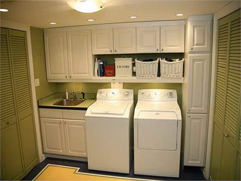Laundry Room Ideas Small Space Interior Decorating House Plans 13105