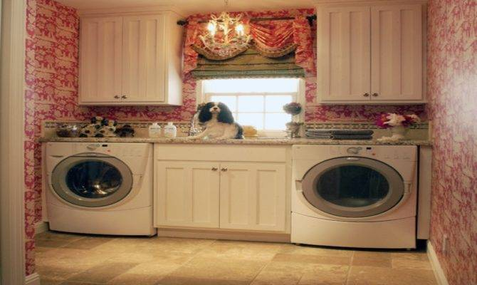 Laundry Rooms Country Style French