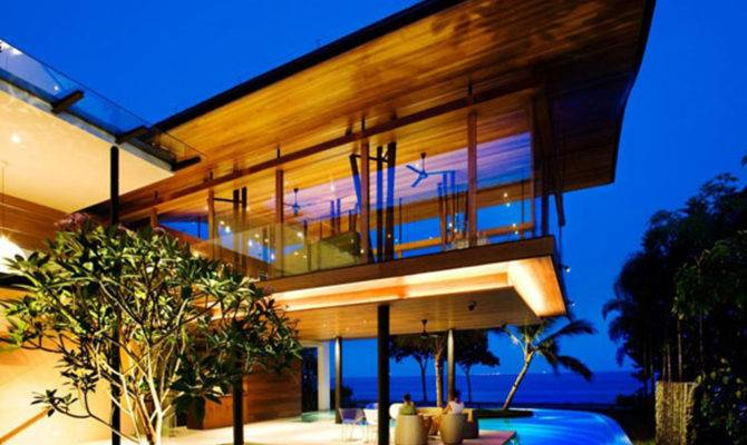 Lavish Beach House Designs Iroonie