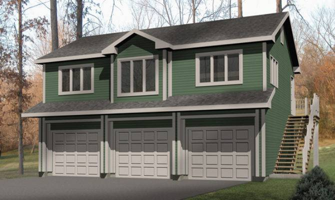 Laycie Car Garage Apartment Plan House Plans