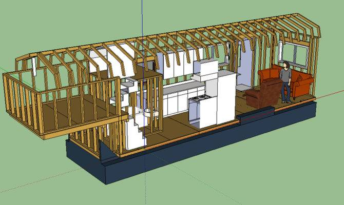 Layout Tiny House Fat Crunchy