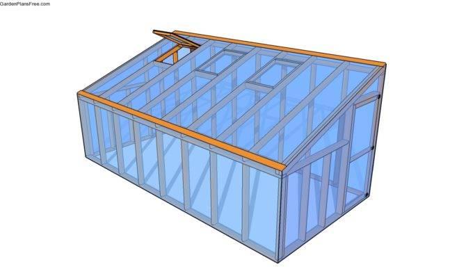 Lean Greenhouse Plans Garden