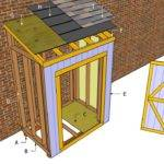 Lean Shed Plans Outdoor Diy Wooden