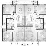 Lehigh Multi Fourplex Plan House Plans
