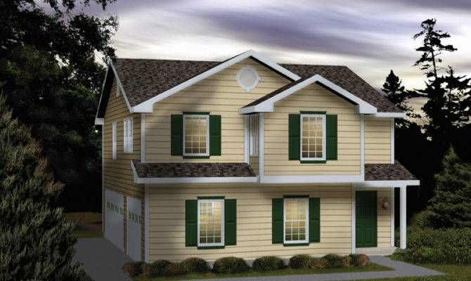 Lena Park Car Garage Apartment Plan House