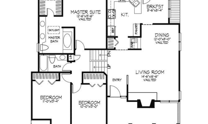Level Backsplit House Plans