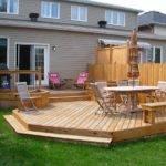 Level Deck Off Patio Door Pool Yard Scape Pinterest
