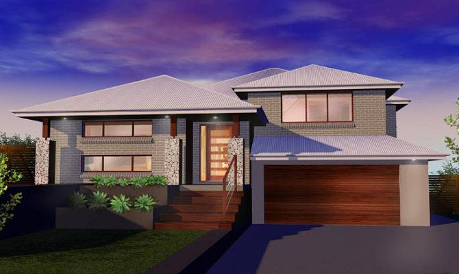 Level Home Designs Custom Split Fowler Homes Sydney Nsw
