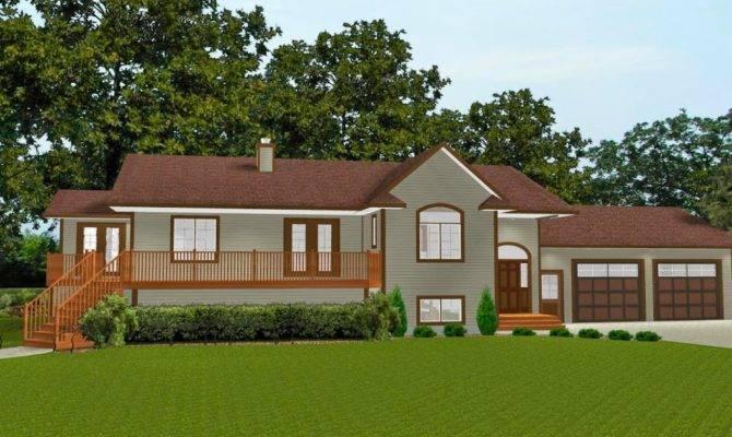 Level House Plans Basement Suites Home Design Inside
