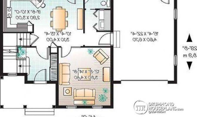 Level Small Simple Two Storey Home Three Bedrooms Large Kitchen