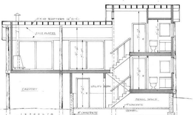 Level Split House Plan Modern Design Ideas