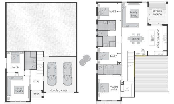 Level Split House Plans Fabulous Designing