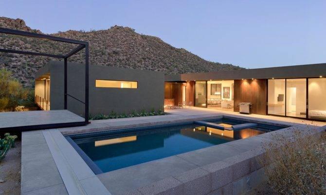 Levin Residence Sleek Desert House Marana Arizona