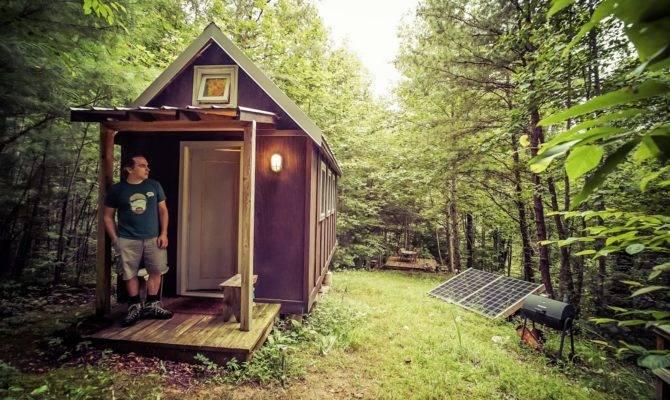 Life Square Feet Tiny House Giant Journey Trip