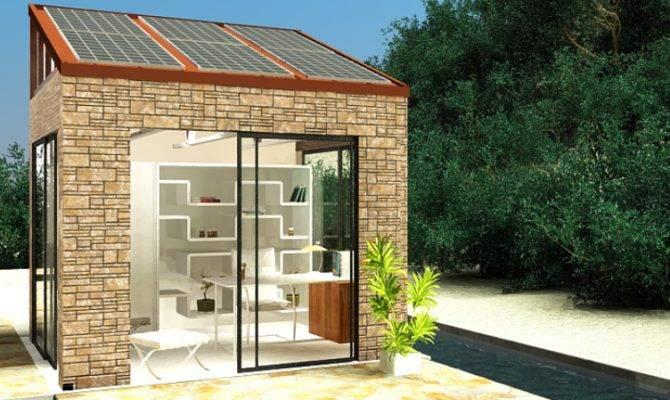 Lifepod Solar Backyard Office Tiny House Design
