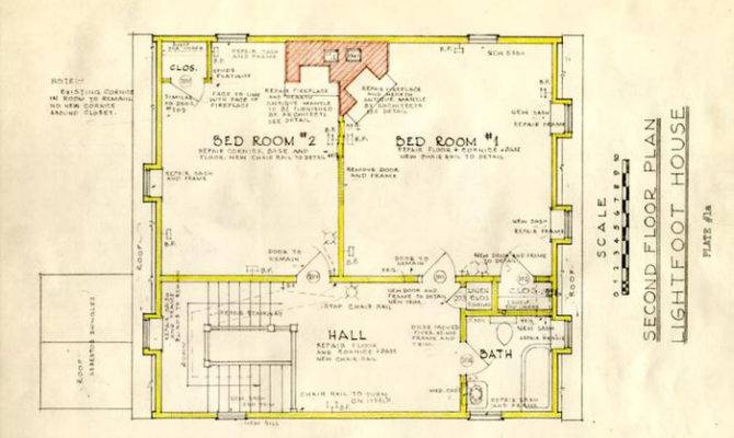 Lightfoot House Colonial Houses Plans Designs
