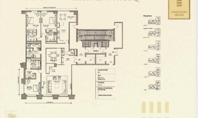 Limestone House Floor Plans Difc Dubai Uae