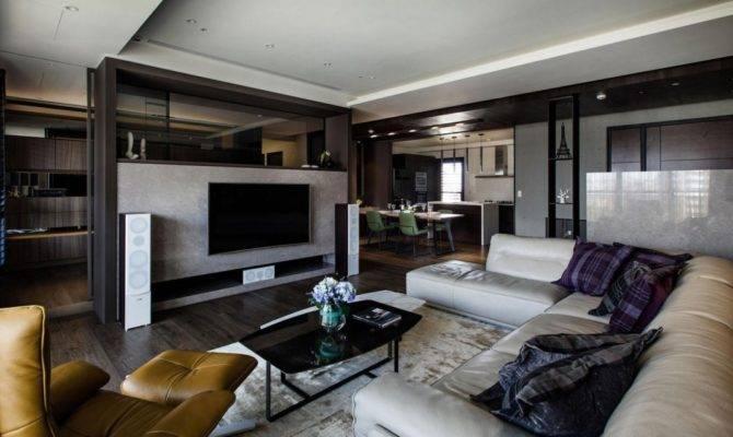 Lin Modern Apartment Kaohsiung City Taiwan Designed