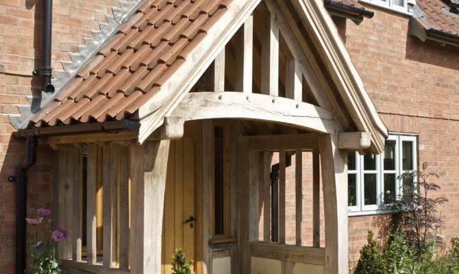 Little Acorns Border Oak Porch