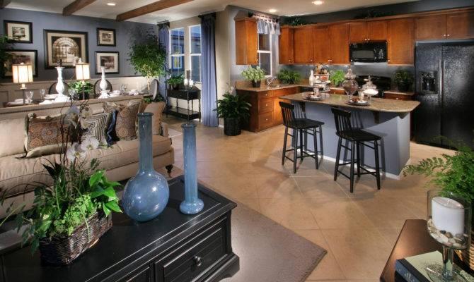 Living Open Floor Plan House Plans Making