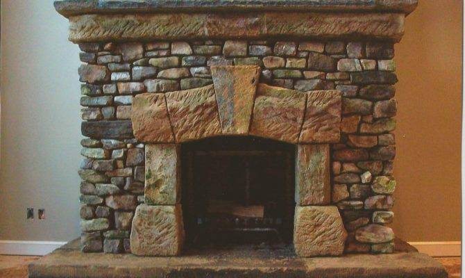 Living Room Classy Stone Fireplaces Home Interior