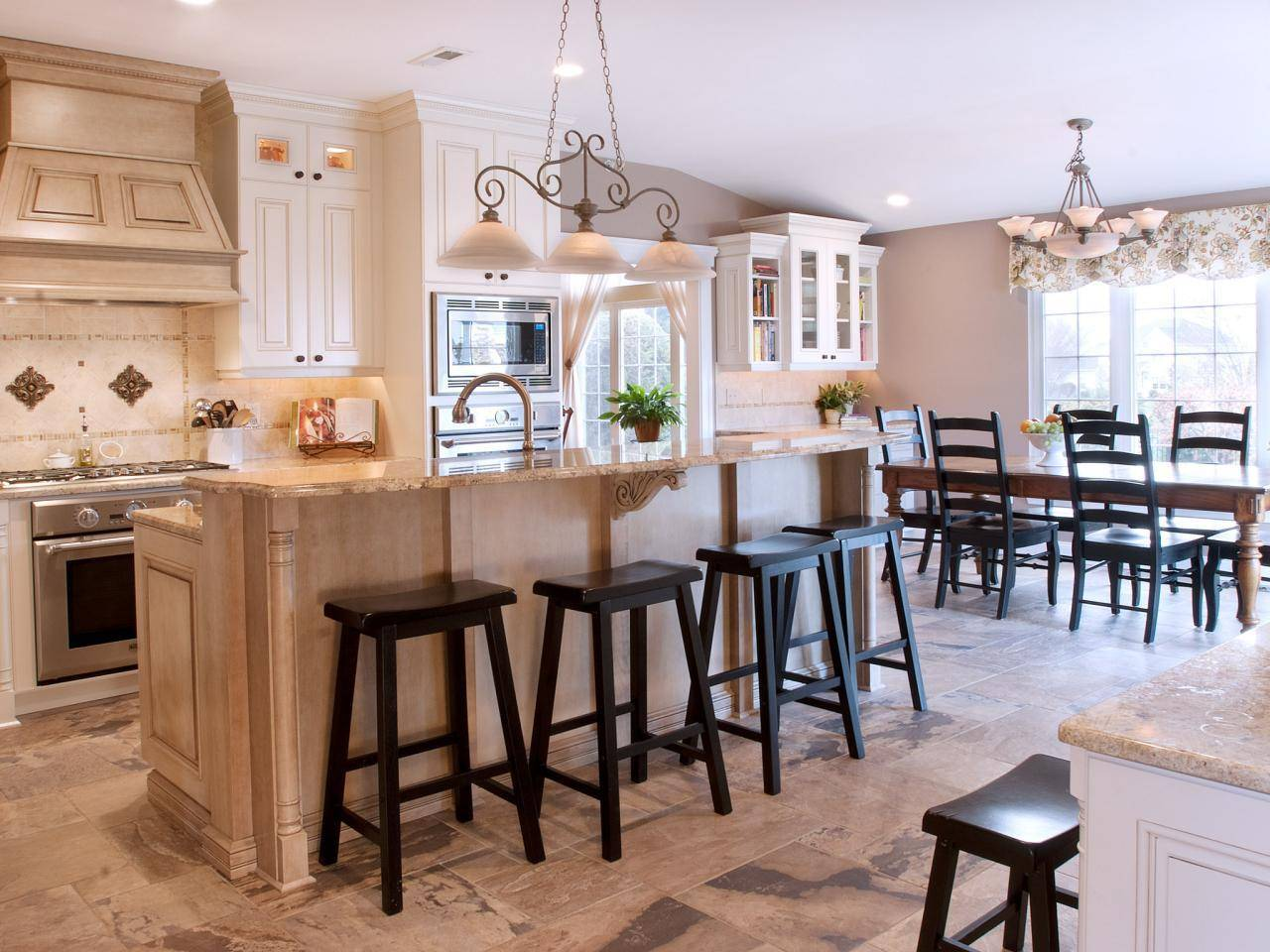 Living Room Dining Kitchen Combo Ideas House Plans 137851