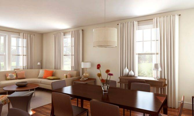Living Room Dining Together Design Ideas