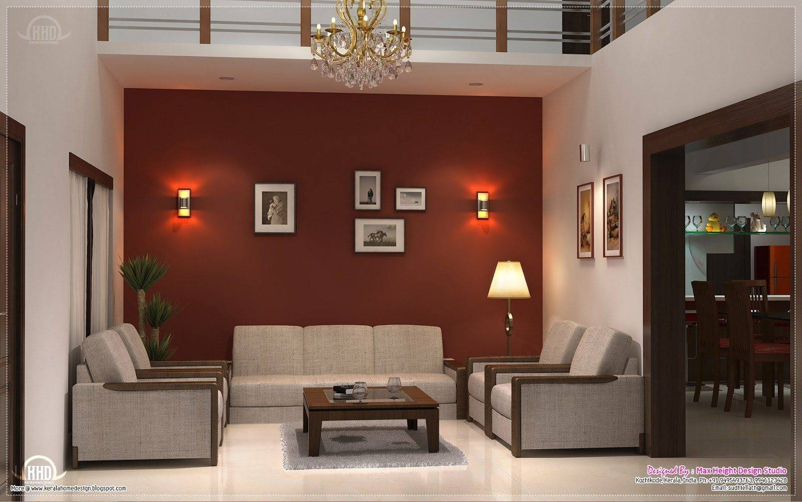 Living Room Interior Design India Simple Indian Style House Plans 95520