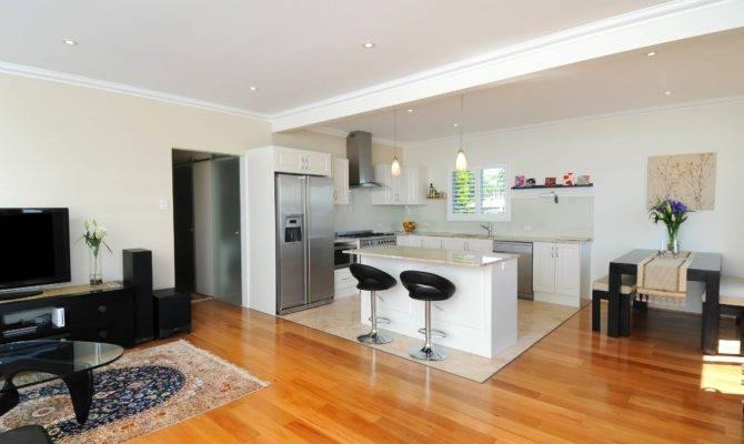 Living Room Kitchen Open Plan Decosee