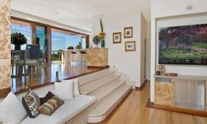 Living Room Split Level Ideas
