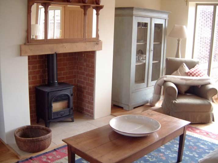 Living Room Wood Burner