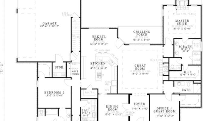 Locksley Neoclassical Home Plan House Plans