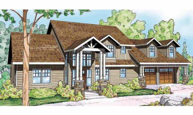 Lodge Style House Plans Grand River Associated Designs