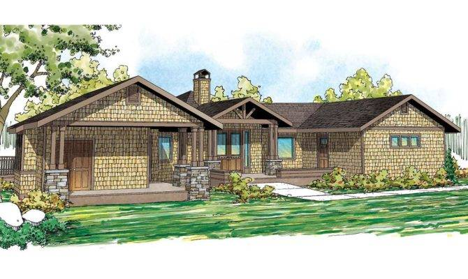 Lodge Style House Plans Sandpoint Associated Designs