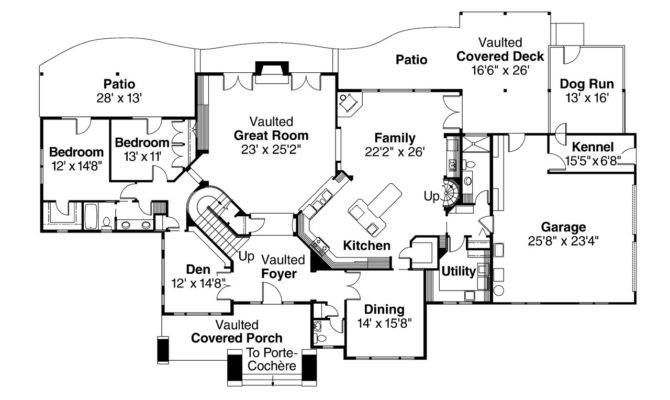 Lodge Style House Plans Timberfield Associated Designs
