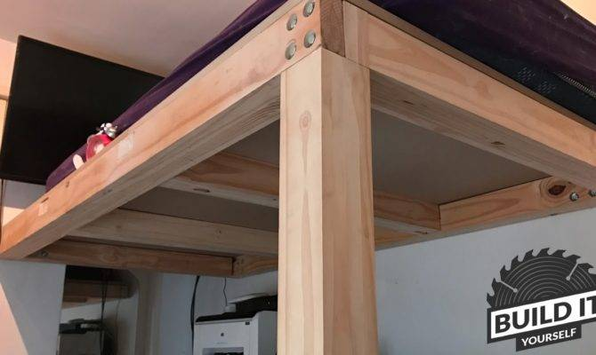 Loft Bed Construction Diy Build Yourself Doovi