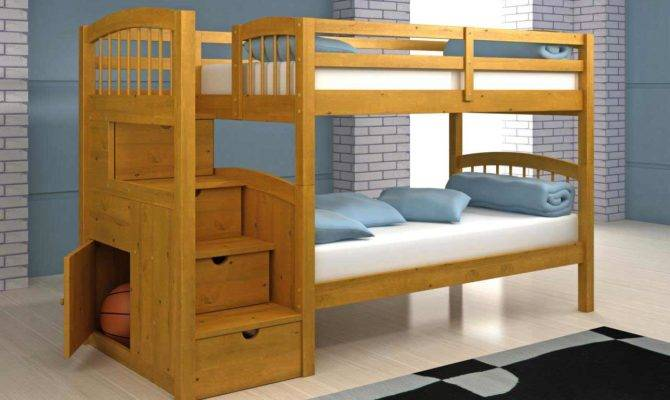Loft Bed Plans Stairs Diy Blueprints