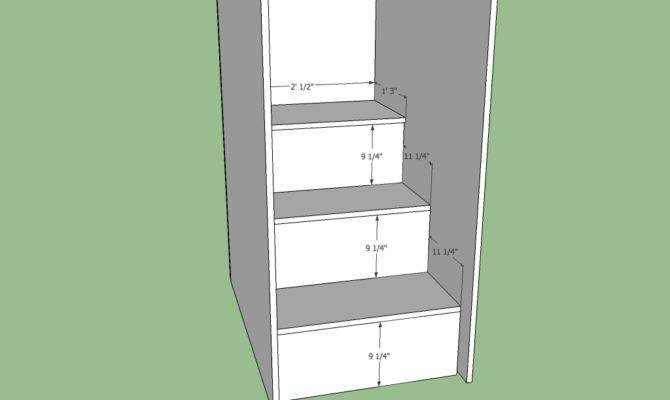 Loft Bed Stairs Design Furnitureplans
