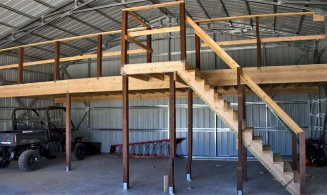 Loft Built Across Back Above Floor Side