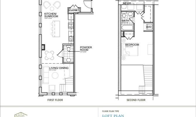 Loft Plan House Plans