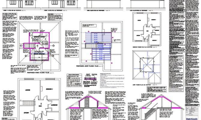 Loft Plans Architectural Floor Building
