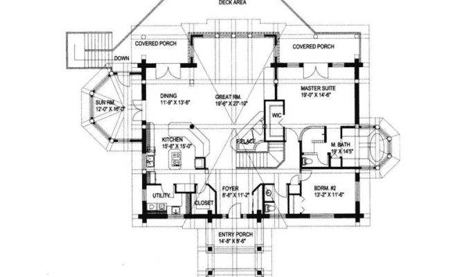 Lofty Point Rustic Frame Home Plan House Plans More