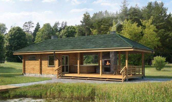 Log Bath House Plans Designs Catalogue