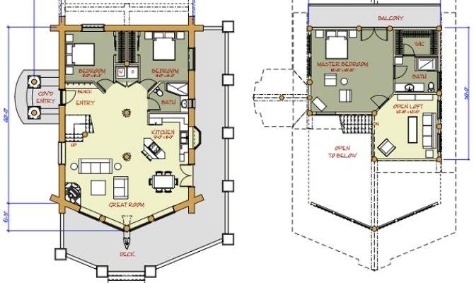 Log Cabin Floor Plans Home Plan House Plans 151376