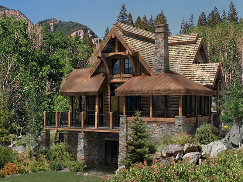 Log Cabin Floor Plans Project Build Small Cabins - House Plans ...
