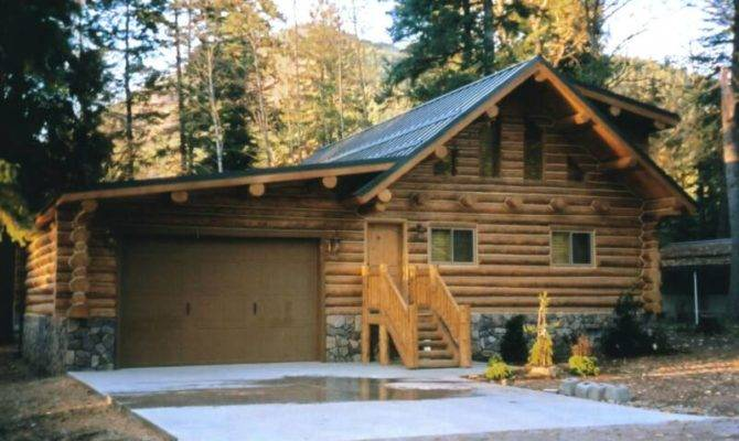 Log Cabin Garage Clearwater Structures