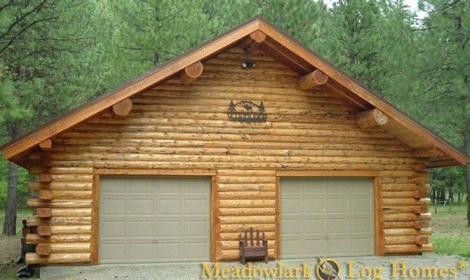 Log Cabin Garage Venidami