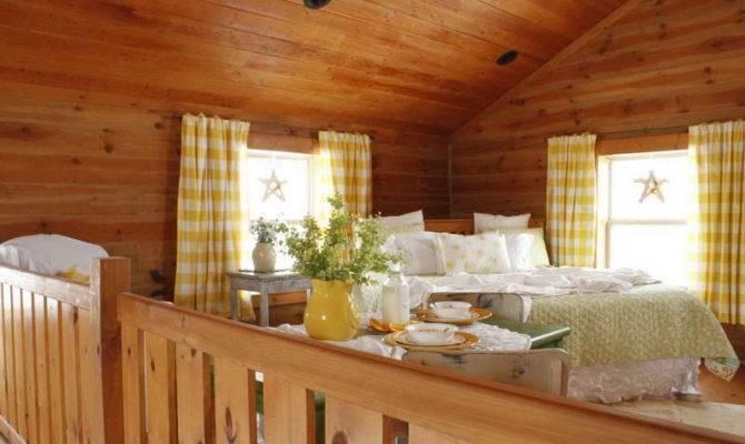 Log Cabin House Plans Loft Woodplans