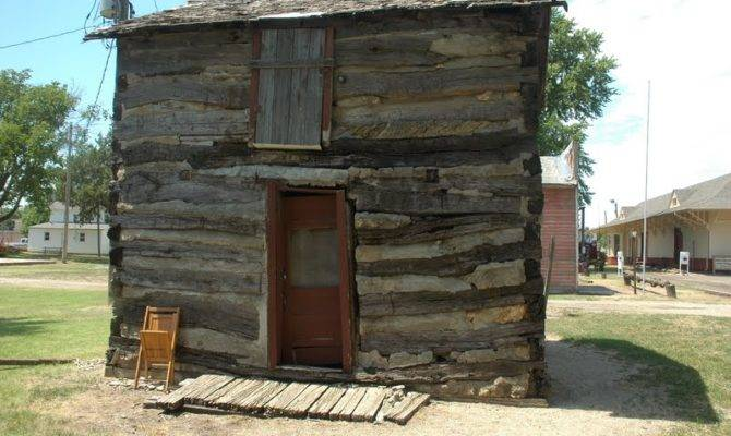 Log Cabin One Old Fashioned Double Cabins Dog Trot