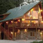 Log Cabin Plans Homes Floor Plan Alpine Ridge